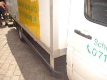 Unser LKW - Abholung und Anlieferung von Pflanzen zum überwintern